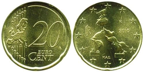 20 евроцентов 2010 Италия