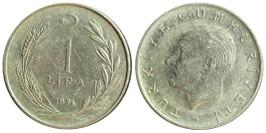 1 лира 1974 Турция