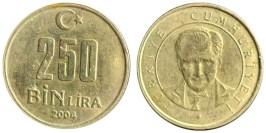 250000 лир 2004 Турция
