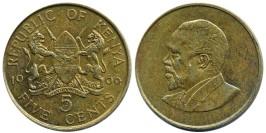 5 центов 1966 Кения