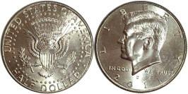 50 центов 2011 D США