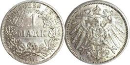 1 марка 1911 «A» Германия — серебро