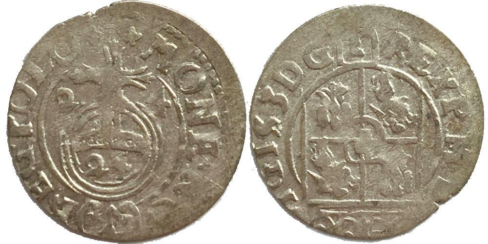 Полторак (1,5 гроша) 1624 Польша — Сигизмунд III — серебро №1