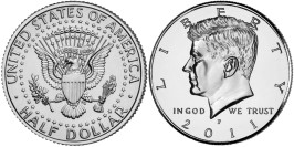 50 центов 2011 P США UNC