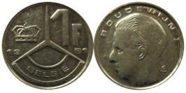 1 франк 1991 Бельгия (VL)