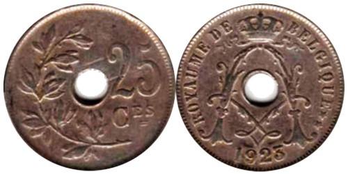 25 сантимов 1923 Бельгия (FR)