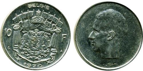 10 франков 1970 Бельгия (VL)