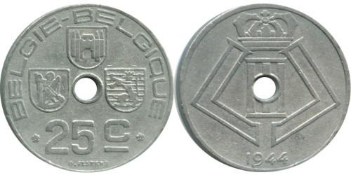 25 сантимов 1944 Бельгия (FR)