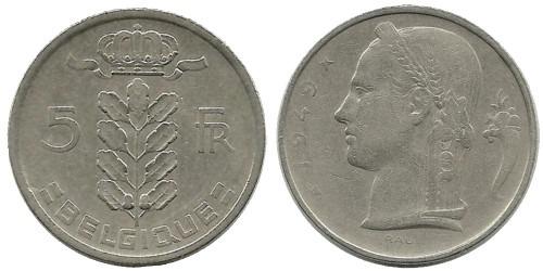 5 франков 1949 Бельгия (FR)