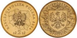 2 злотых 2004 Польша — Регионы Польши — Опольское воеводство