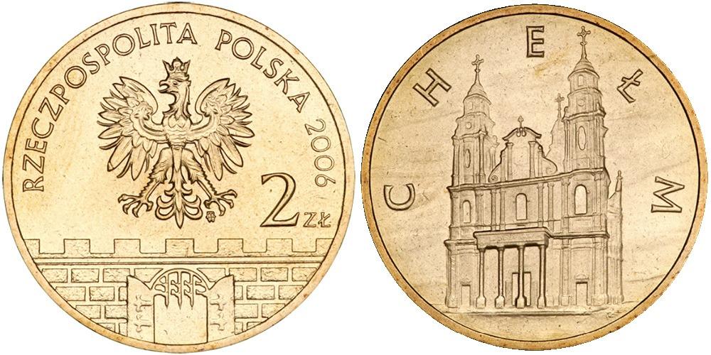 2 злотых 2006 Польша — Древние города Польши — Хелм