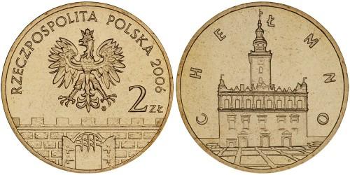 2 злотых 2006 Польша — Древние города Польши — Хелмно