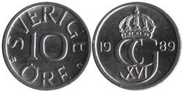 10 эре 1989 Швеция