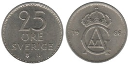 25 эре 1966 Швеция