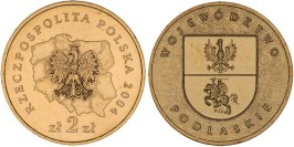 2 злотых 2004 Польша — Регионы Польши — Подляское воеводство