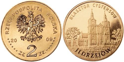2 злотых 2009 Польша — Города Польши — Енджеюв