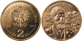 2 злотых 2004 Польша — Польские путешественники — Александр Чекановский (1833-1876)