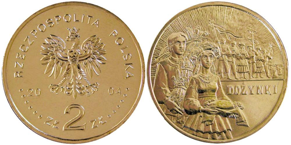 2 злотых 2004 Польша — Ритуалы Польши — Праздник урожая