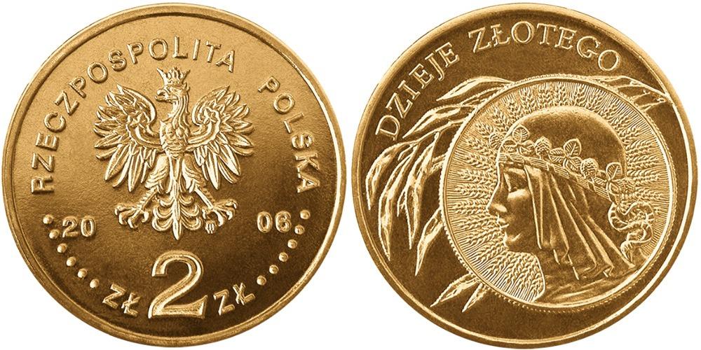 2 злотых 2006 Польша — История польского злотого — 10 злотых 1932 года