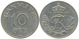 10 эре 1954 Дания