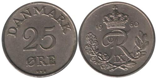 25 эре 1960 Дания