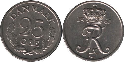 25 эре 1961 Дания