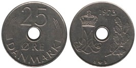 25 эре 1973 Дания