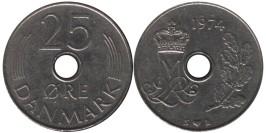 25 эре 1974 Дания