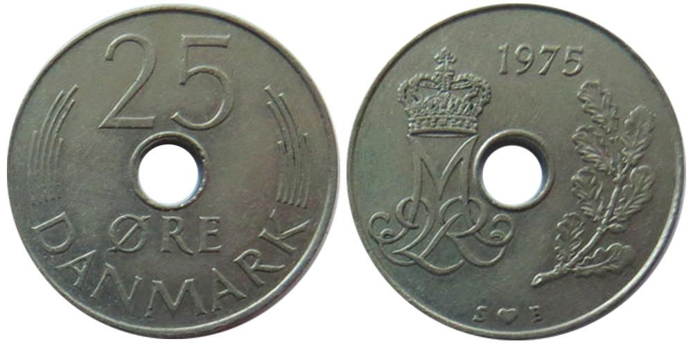 25 эре 1975 Дания