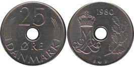 25 эре 1980 Дания