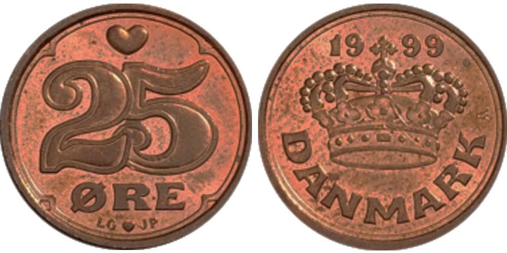 25 эре 1999 Дания