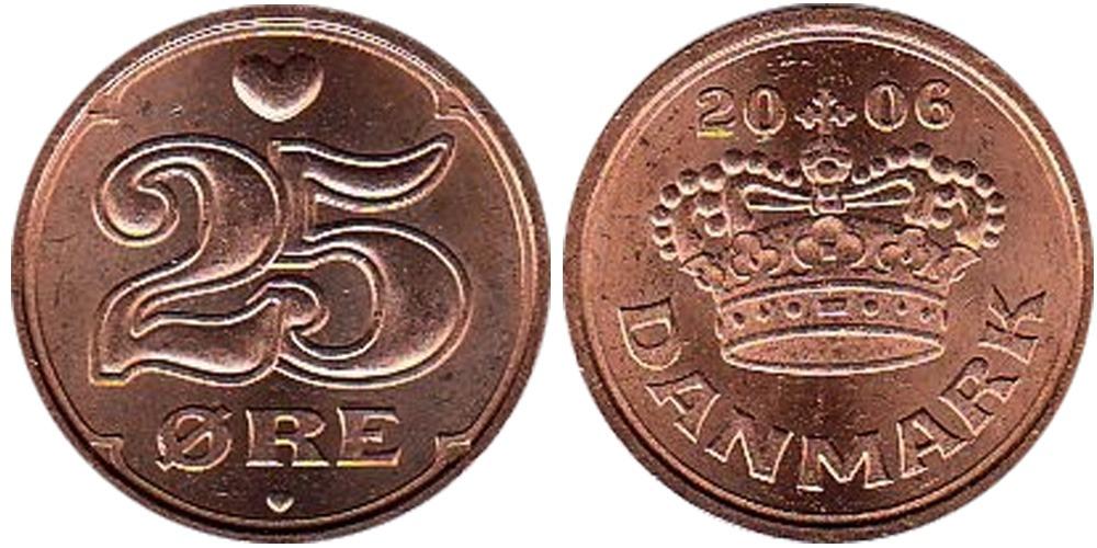25 эре 2006 Дания