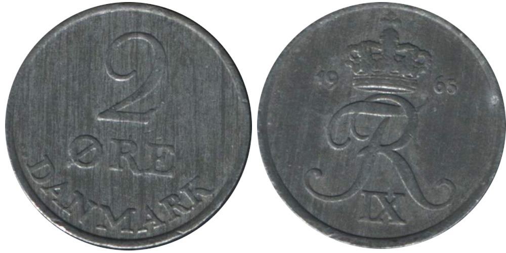2 эре 1965 Дания