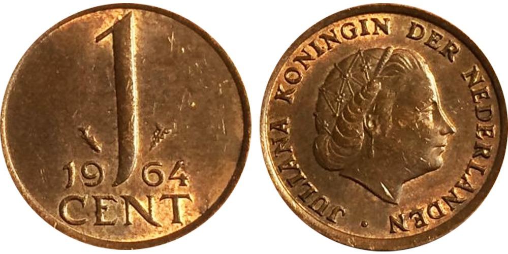 1 цент 1964 Нидерланды