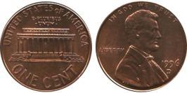 1 цент 1996 D США