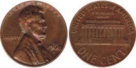 1 цент 1968 D США