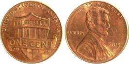 1 цент 2015 D США UNC