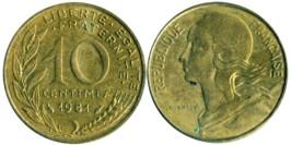 10 сантимов 1981 Франция