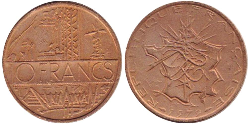 10 франков 1979 Франция