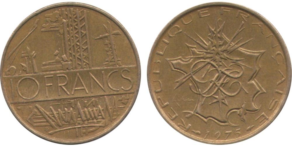 10 франков 1975 Франция