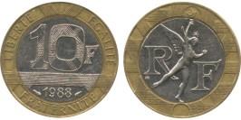10 франков 1988 Франция
