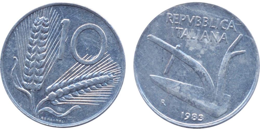 10 лир 1983 Италия
