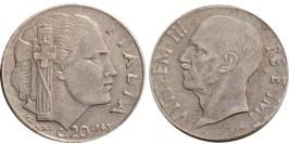 20 чентезимо 1943 Италия — магнитная