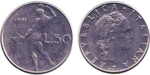 50 лир 1981 Италия