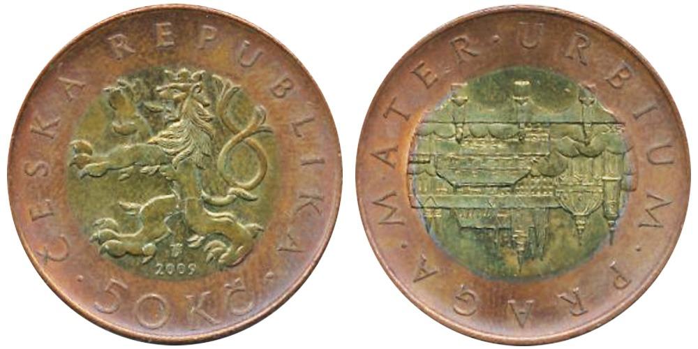 50 крон 2009 Чехия