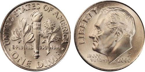 10 центов 2006 Р США
