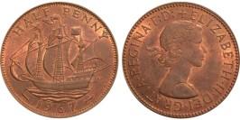 1/2 пенни 1967 Великобритания