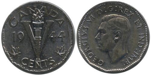 5 центов 1944 Канада