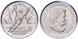 25 центов 2009 Канада — Победа мужской сборной по хоккею на олимпиаде Солт-Лейк-Сити 2002 UNC