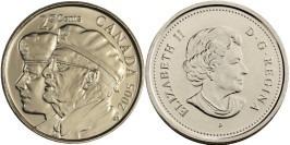 25 центов 2005 Канада — Год Ветеранов
